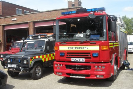 Emergency Services Day at Evesham Fire Station emergencyservices01