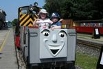 Thomas and friends at Kirklees Light Railway