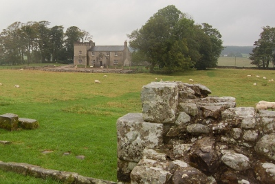 YHA youth hostel at Birdoswald Roman Fort on Hadrian's Wall in Cumbria