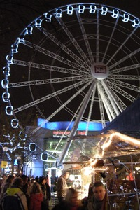 Birmingham eye at Christmas