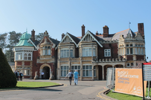 Manor house at Bletchley Park