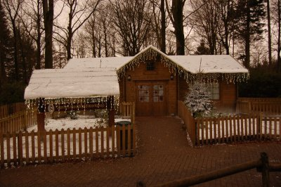 Center Parcs Longleat Forest at Christmas, Santas Workshop