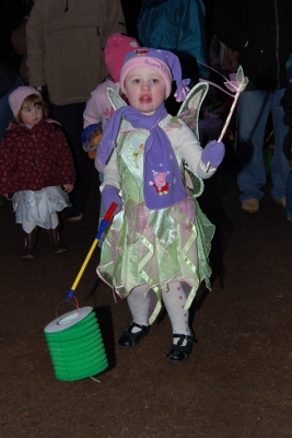 Fairy procession at Whinfell Forest Center Parcs near the Lake District