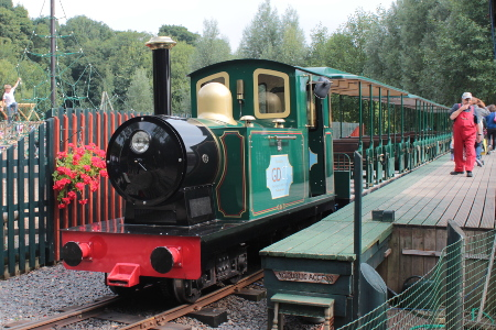 Light railway at Conkers