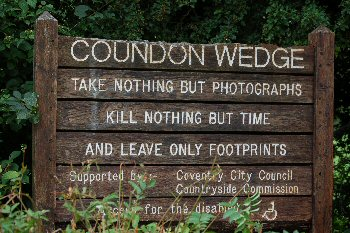 Coundon Wedge, Coventry - Sign