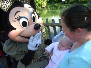 Disney Character Minnie with Baby