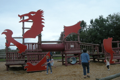Folly Farm children's playground