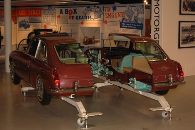 How a car works - hands on at the Heritage Motor Centre in Gaydon
