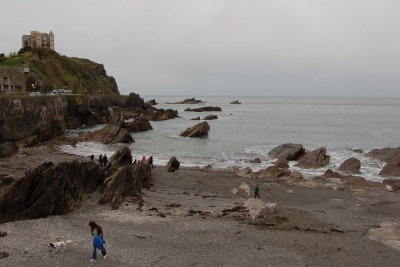 Rocky beach at Ilfracombe, Devon