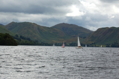 Ullswater Lake in the Lake District, Cumbria, England