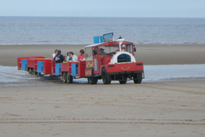 Mablethorpe beach train