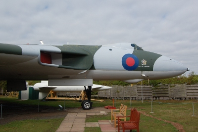 RAF Vulcan Bomber at the Midlands Air Museum