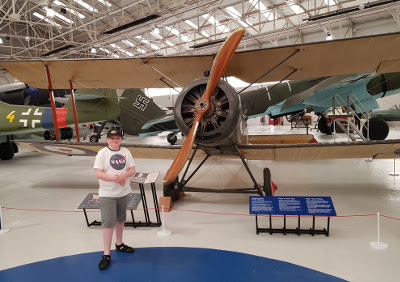 RAF Cosford museum - WWI & WWII planes