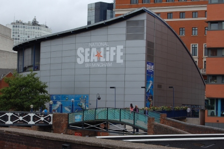 Sealife Centre Birmingham - view from NIA car park
