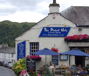The Priest Hole - Eating House - Restaurant in Ambleside, The Lake District