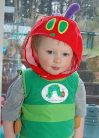 Very hungry caterpillar fancy dress